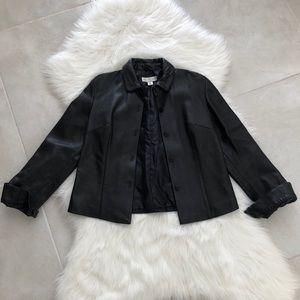Vintage Leather Jacket, size Medium